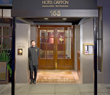 Win a weekend stay at Hotel Griffon in San Francisco