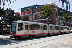 Taking a Leisure Trip - Muni at AT&T Park photo