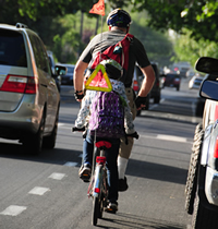 Go Green, Bicycle - people on bikes photo