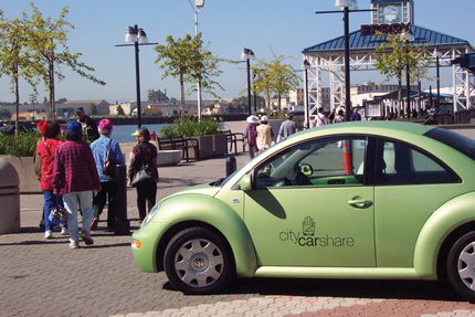 Go Green, Carshare - City Carshare vehicle photo